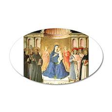 Bosco ai Frati Altarpiece - Fra Angelico Wall Decal