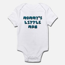 Mommy's little man baby onesie