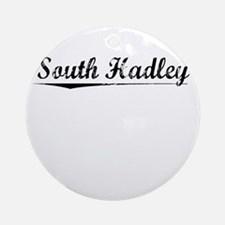 South Hadley, Vintage Round Ornament
