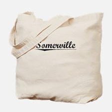 Somerville, Vintage Tote Bag