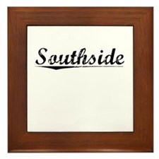 Southside, Vintage Framed Tile