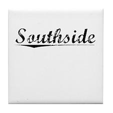 Southside, Vintage Tile Coaster