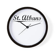 St. Albans, Vintage Wall Clock
