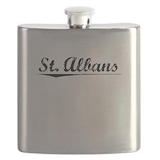 St. Albans, Vintage Flask