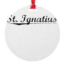 St. Ignatius, Vintage Ornament