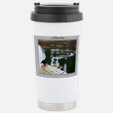 Doobie and the whale Stainless Steel Travel Mug