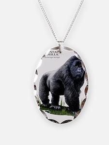 Mountain Gorilla Necklace