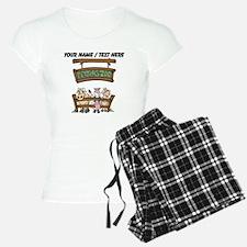 Custom Petting Zoo Pajamas