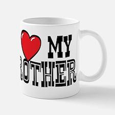 I Love My Brother Small Small Mug