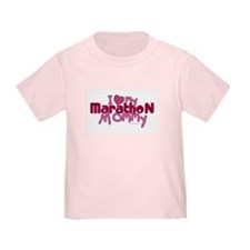 I Love My Marathon Mommy T