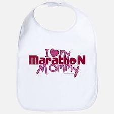 I Love My Marathon Mommy Bib