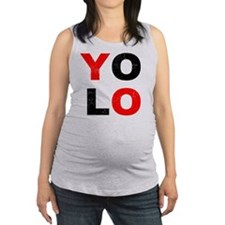 YOLO Maternity Tank Top