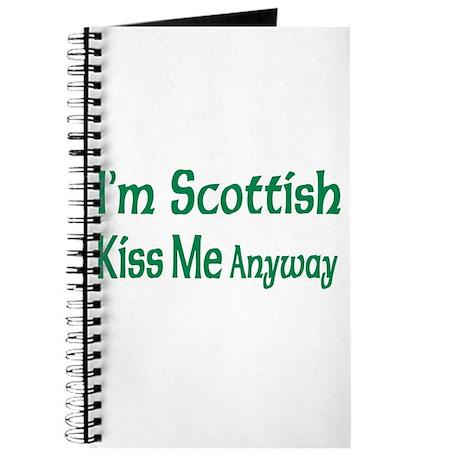 I'm Scottish, Kiss Me Anyways Journal