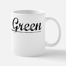 Spring Green, Vintage Mug