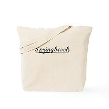 Springbrook, Vintage Tote Bag