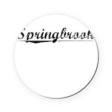 Springbrook, Vintage Cork Coaster