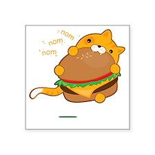"""Cheezburger! Square Sticker 3"""" x 3"""""""