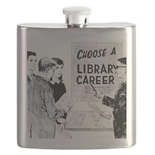 Retro Librarian Flask