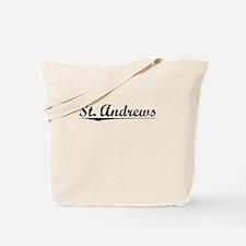 St. Andrews, Vintage Tote Bag