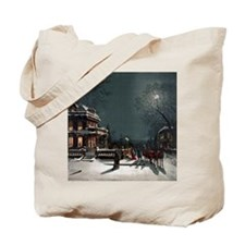 Vintage Christmas Eve Tote Bag