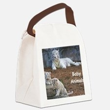 Baby Animals Canvas Lunch Bag
