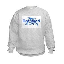 I Love My Marathon Mommy Sweatshirt