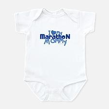 I Love My Marathon Mommy Infant Bodysuit