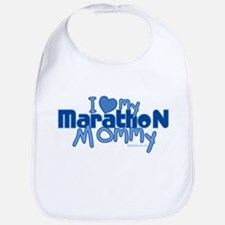 I Love My Marathon Mommy Bib
