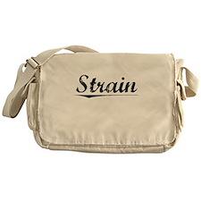 Strain, Vintage Messenger Bag