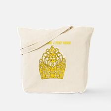 Custom Gold Crown Tote Bag
