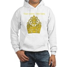Custom Gold Crown Hoodie