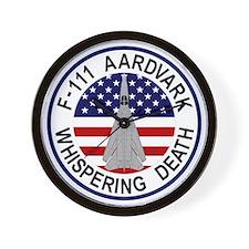 F-111 Aardvark - Whispering Death Wall Clock