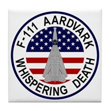 F-111 Aardvark - Whispering Death Tile Coaster