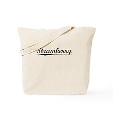 Strawberry, Vintage Tote Bag