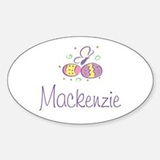 Easter Eggs - Mackenzie Oval Decal