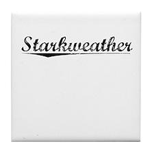 Starkweather, Vintage Tile Coaster