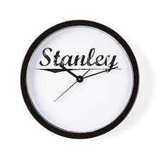 Stanley, Vintage Wall Clock