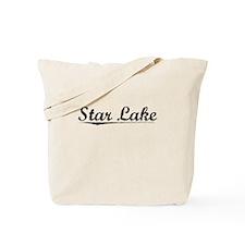 Star Lake, Vintage Tote Bag