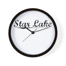 Star Lake, Vintage Wall Clock