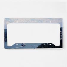 San Juan Island License Plate Holder