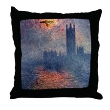 Boldly Going... Throw Pillow