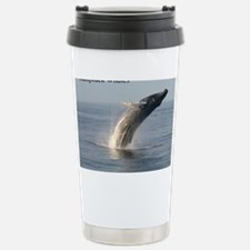 Humpback Whales Stainless Steel Travel Mug
