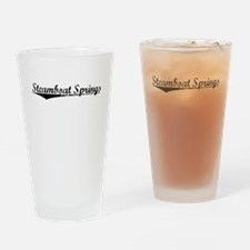Steamboat Springs, Vintage Drinking Glass
