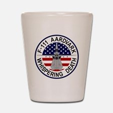 F-111 Aardvark - Whispering Death Shot Glass