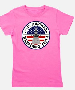 F-111 Aardvark - Whispering Death Girl's Tee