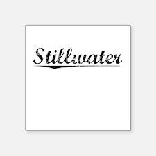 """Stillwater, Vintage Square Sticker 3"""" x 3"""""""
