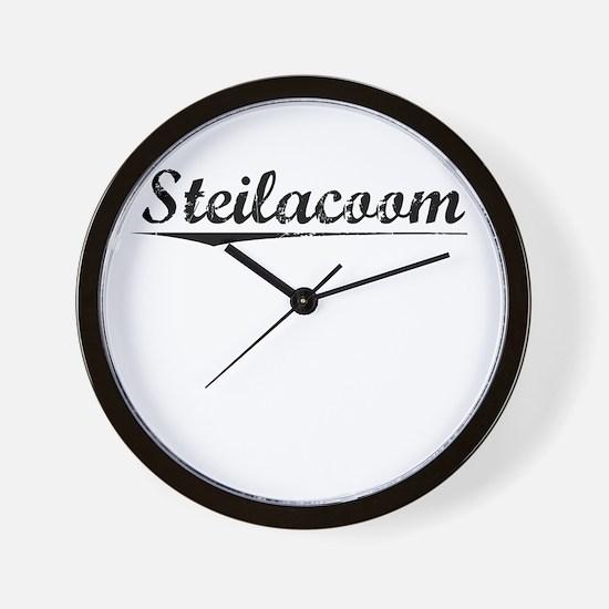 Steilacoom, Vintage Wall Clock