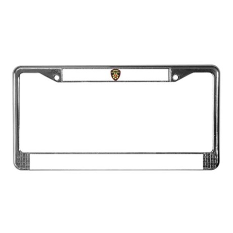 Solano County Sheriff License Plate Frame