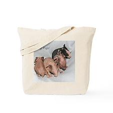 Skinny pigs Tote Bag