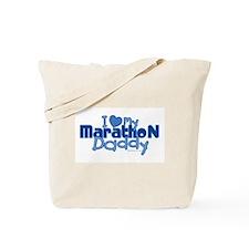 I Love My Marathon Daddy Tote Bag